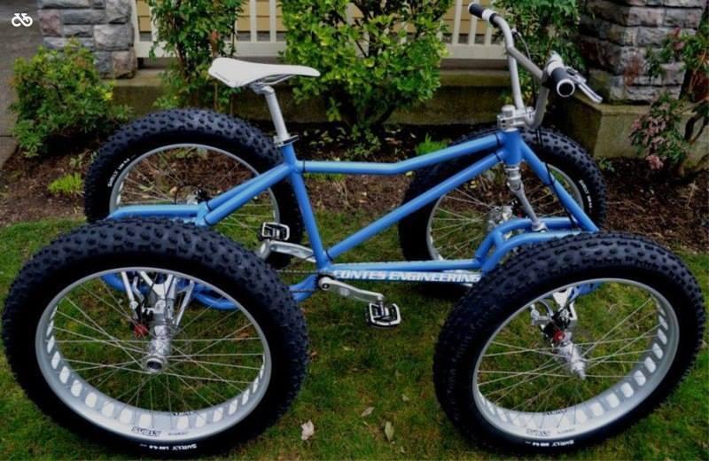 Велосипед на 4 колеса
